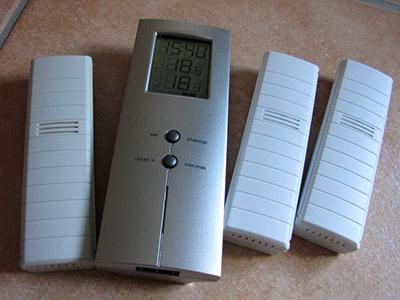 Kühlschrank Thermometer : Digitales thermometer mit funksensoren wohnmobil forum seite
