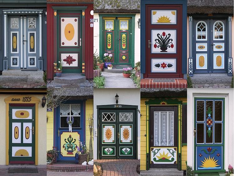 Schöne türen  Schöne Holztüren auf dem Darß