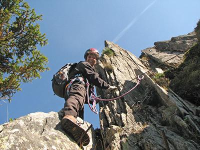 Klettersteig Diavolo : Via ferrata diavolo