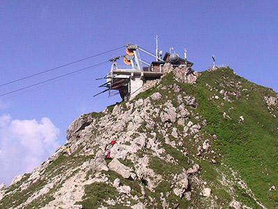 Klettersteig Nebelhorn : Kletterurlaub im oberstdorf hostel Überblick über klettersteige