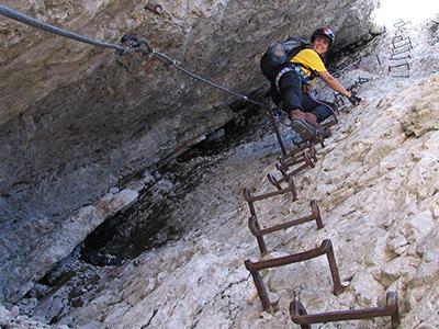 Klettersteig Zugspitze Stopselzieher : Zugspitz klettersteig von ehrwald