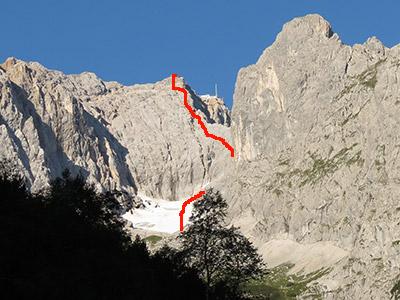 Klettersteig Höllental : Zugspitze höllental klettersteig
